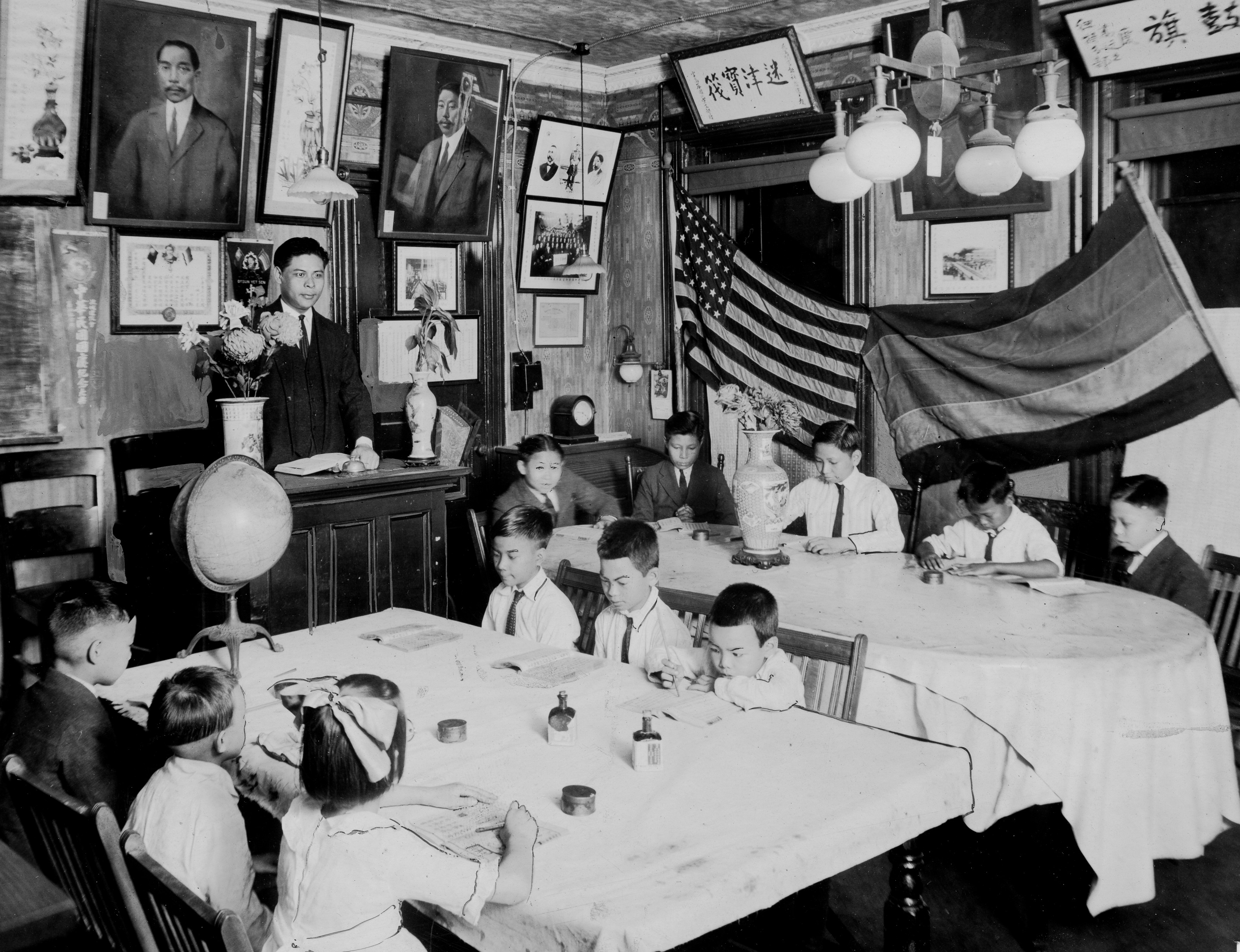 Classroom in Chinatown