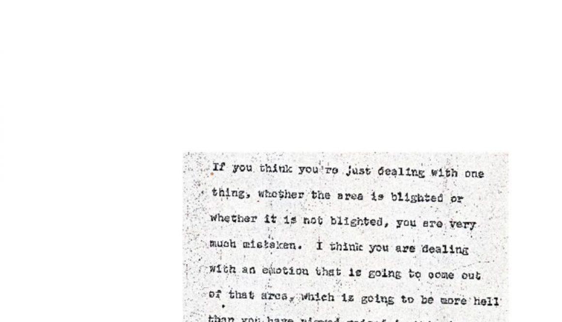 thumbnail of Donald Tucker Excerpt from Blight Hearings (June 22, 1967)