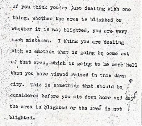 thumbnail of Donald Tucker Excerpt from Blight Hearings (June 22, 1967)