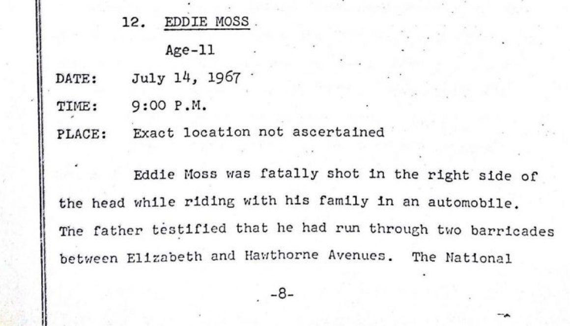 Grand Jury Report- Eddie Moss