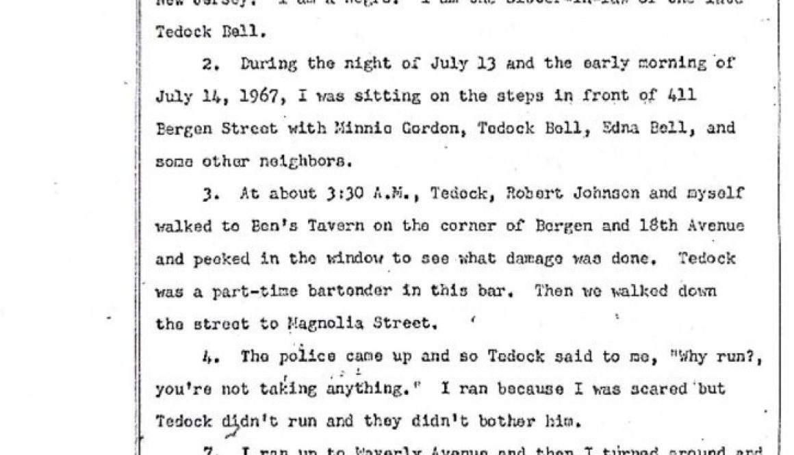 thumbnail of Fannie Bell Edwards Deposition on Tedock Bell