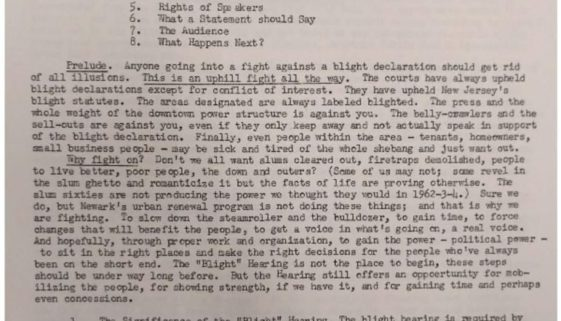 thumbnail of Fighting the Blight or Urban Resistance to Authoritarian Social Change by A Veteran of Newark's Blight Wars of the 50s and 60s.compressed
