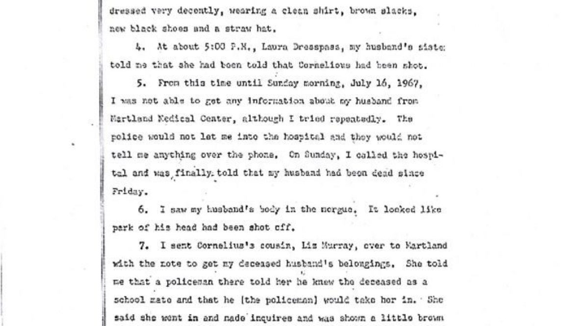 thumbnail of Geneva Murray Deposition on Cornelius Murray