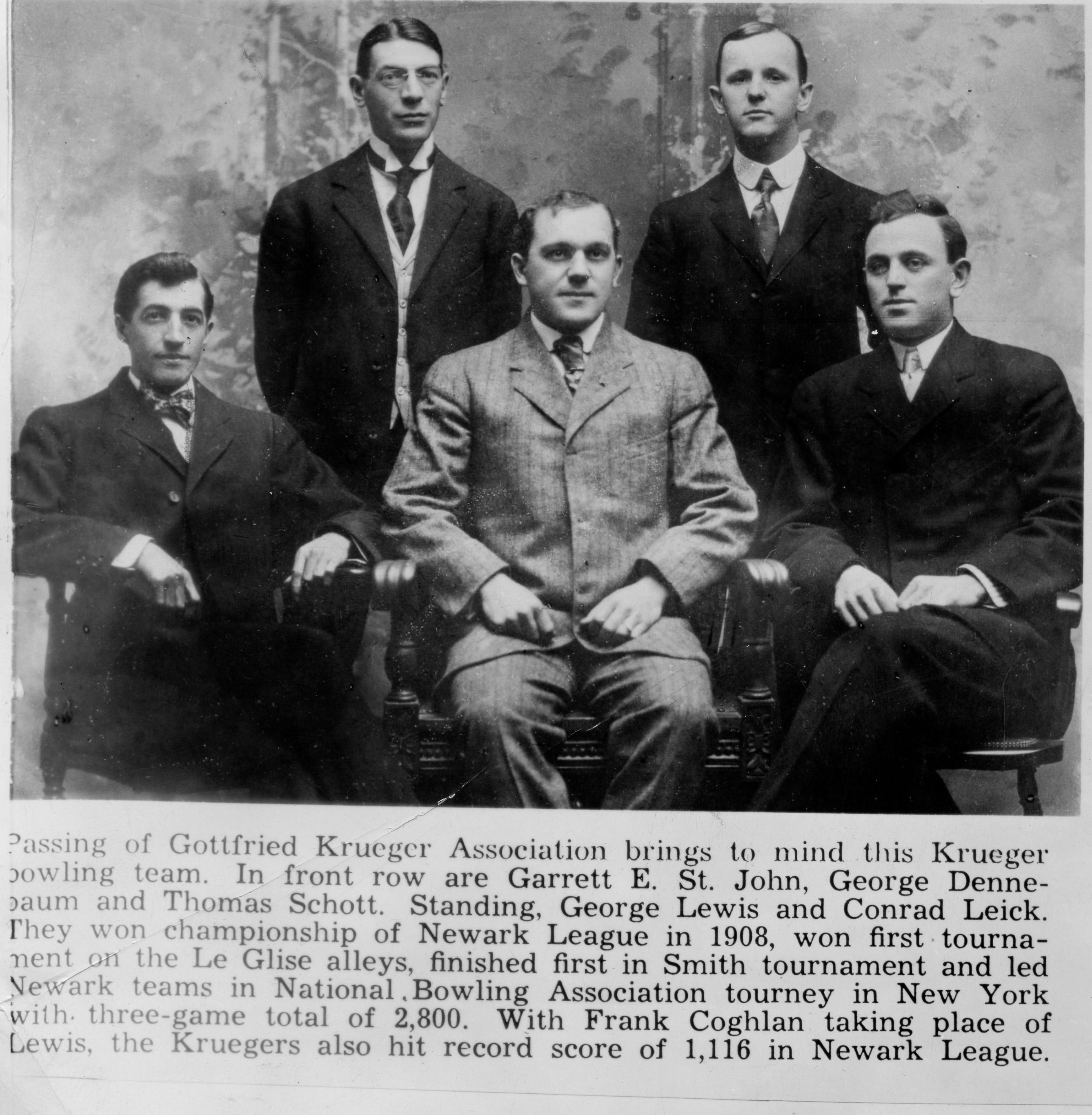 German Krueger Bowling Team