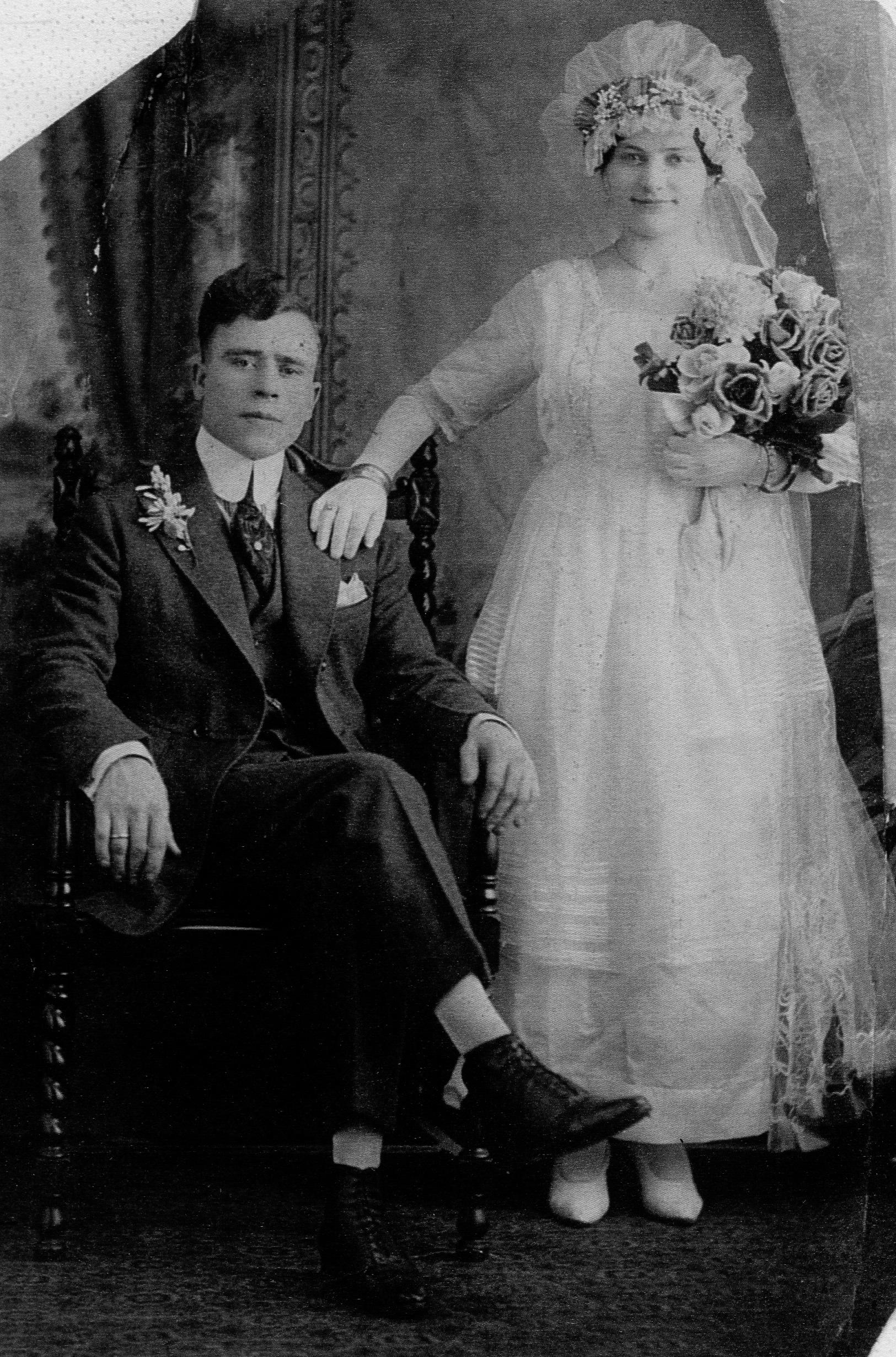 Greek Bride and Groom