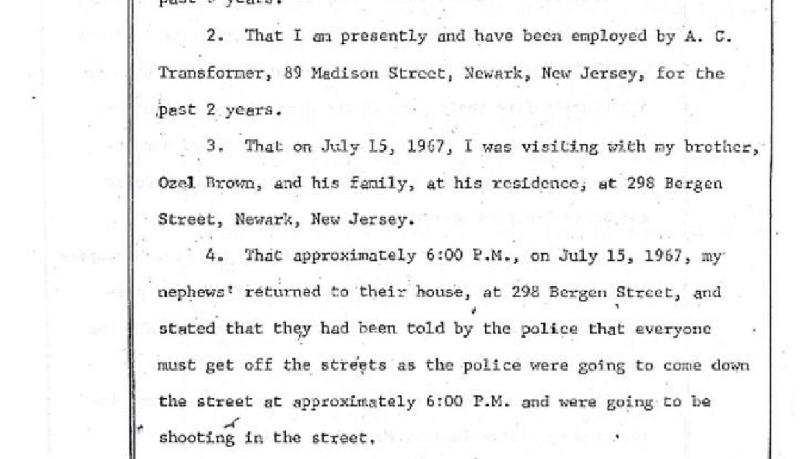 thumbnail of Irving Brown Deposition on Rebecca Brown