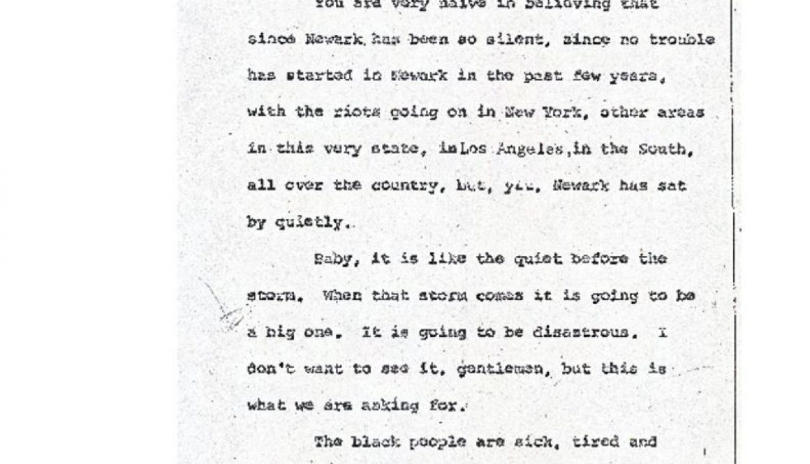 thumbnail of Joseph Brown Excerpt from Blight Hearings (June 22, 1967)
