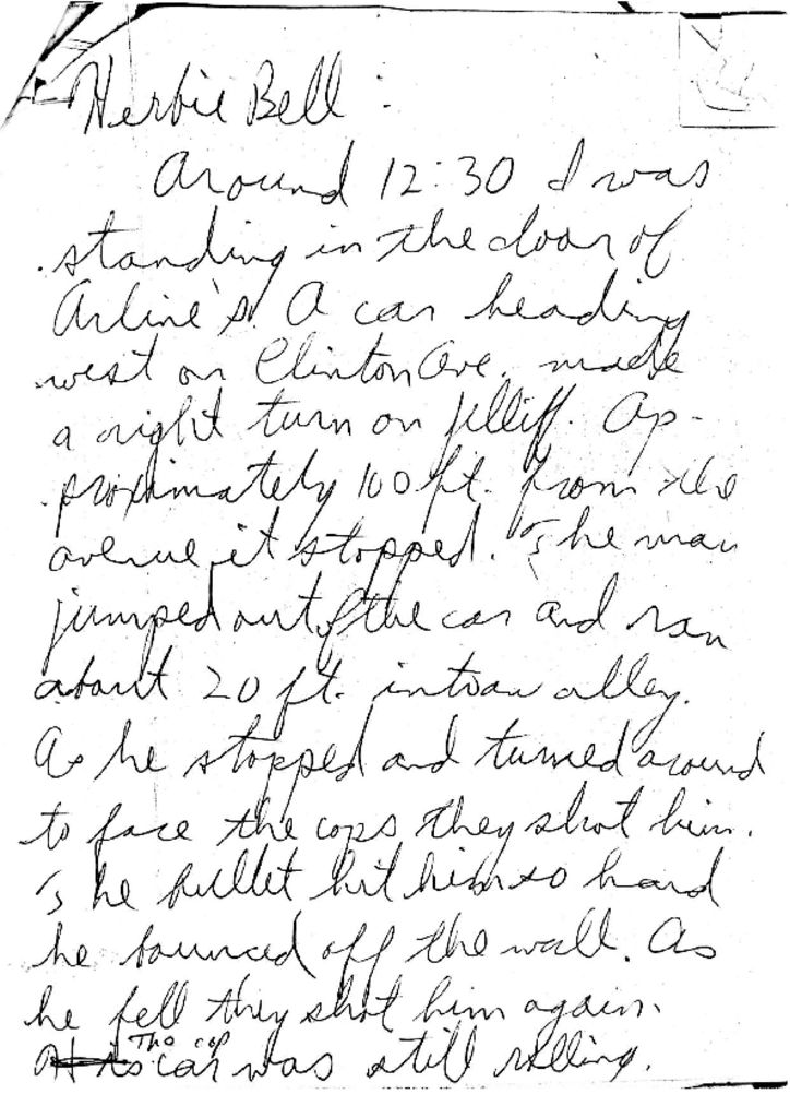Witness Statement of Herbie Bell