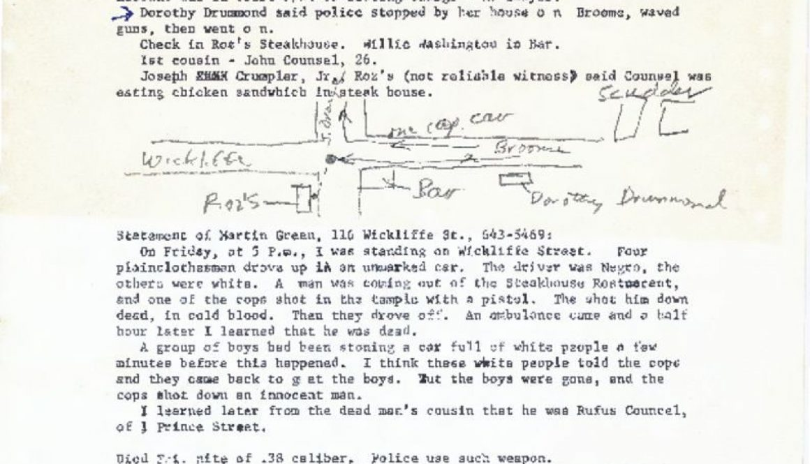 thumbnail of LSP Witness Statements on Rufus Council