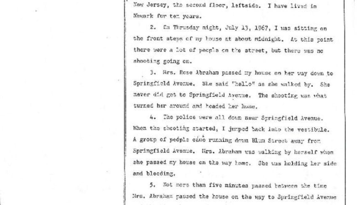 thumbnail of Mabel Davis Deposition on Rose Lee Abraham