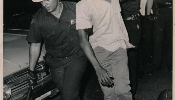 Man Arrested by Police July 13, 1967 (UPI Photo)-min