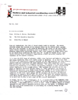Memorandum from William A. Mercer to BICC Executive Committee (May 1967)