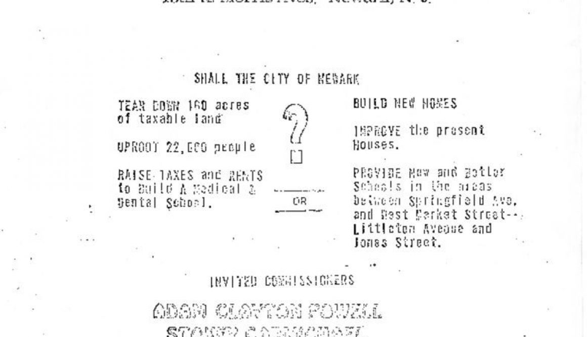 thumbnail of Peoples' Public Hearing on Proposed Medical-Dental School Flyer, Feb 18, 1967