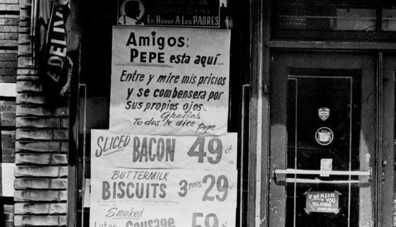 Puerto Rican Store, 1966