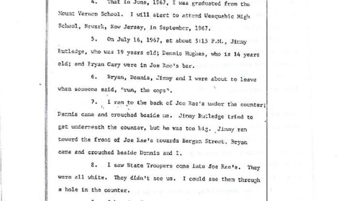 thumbnail of Robert Hatcher Deposition on James Rutledge