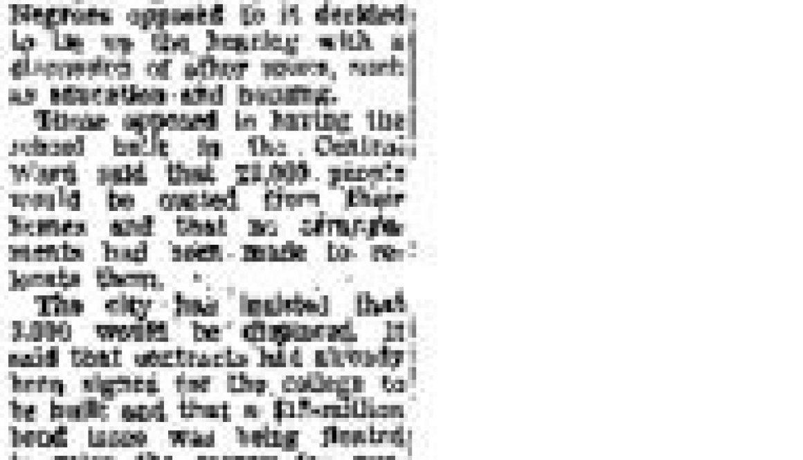 thumbnail of Scuffle Disrupts Newark Hearing (New York Times Jun 13, 1967)