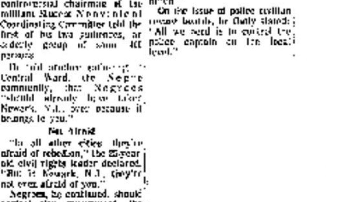 thumbnail of Should Run This Town, Carmichael Harangues (NY Amsterdam News, Sept 10, 1966)
