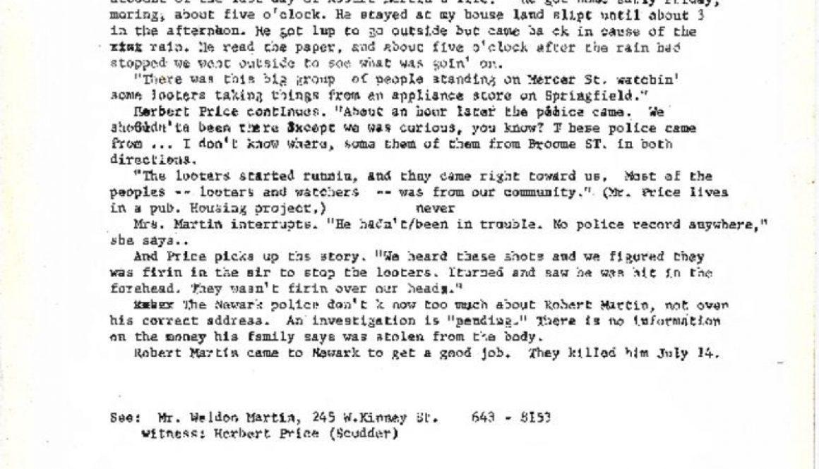 thumbnail of Statement on Robert Lee Martin- Washington Post