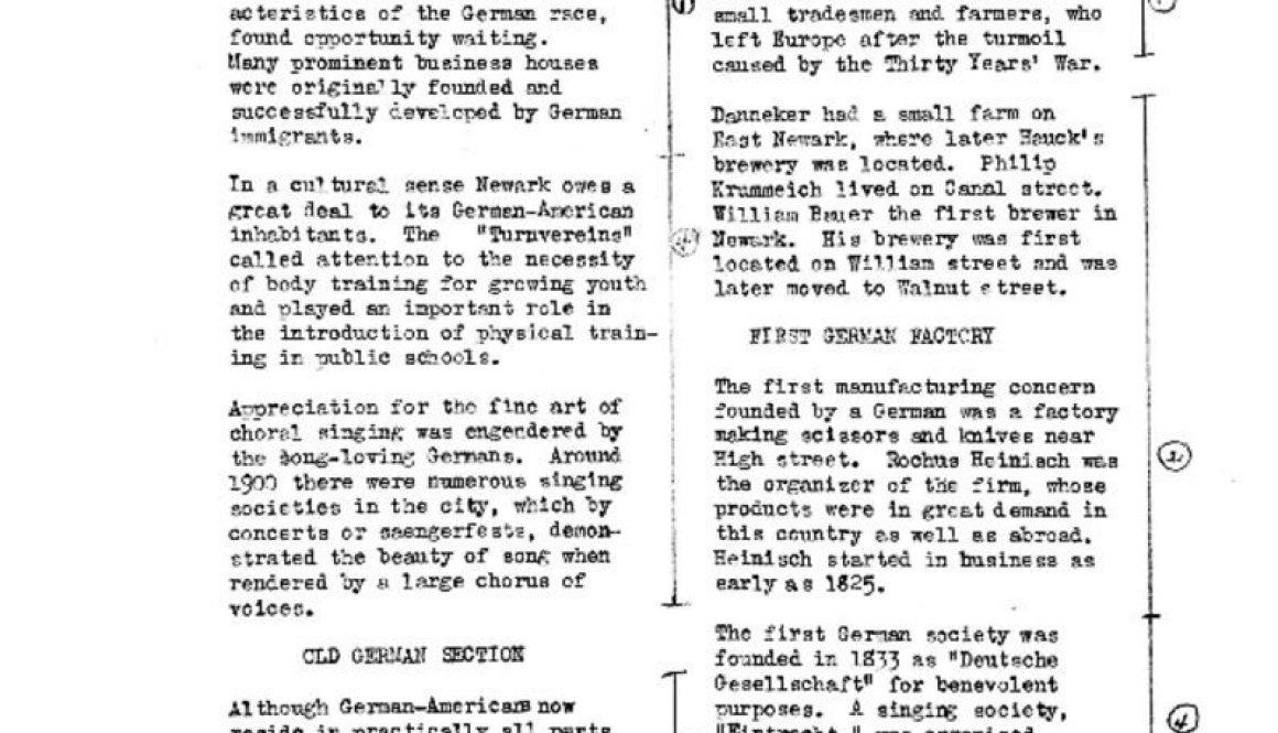 thumbnail of Timeline of Germans in Newark- Apr 15, 1936