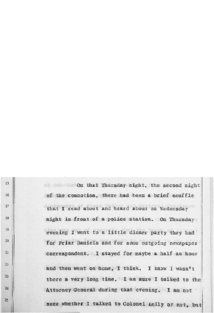 Testimony of Governor Richard Hughes