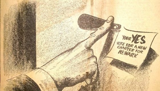 thumbnail of A Brighter Day Within Reach (Newark Evening News, Nov. 2, 1953)