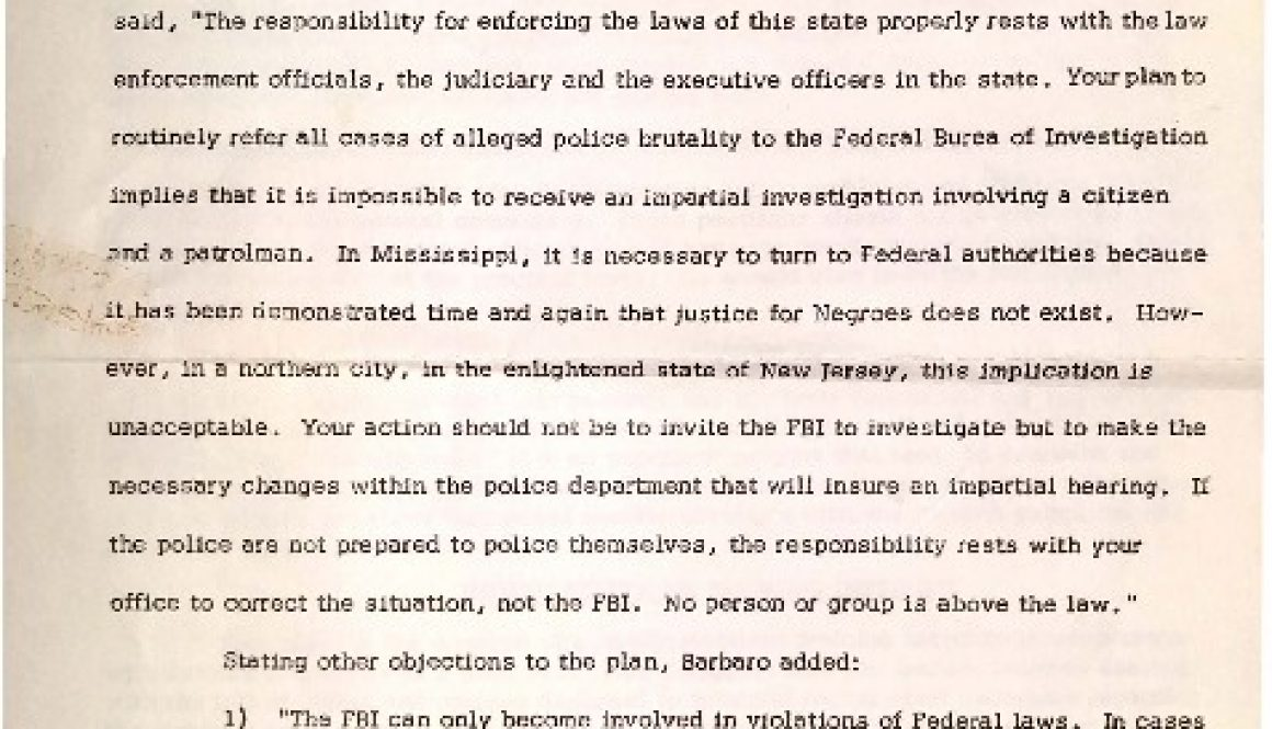 thumbnail of ACLU Press Release on Police Review Board (Sept 21, 1965)