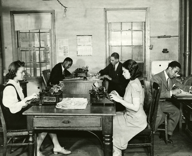 African American Newspaper Office