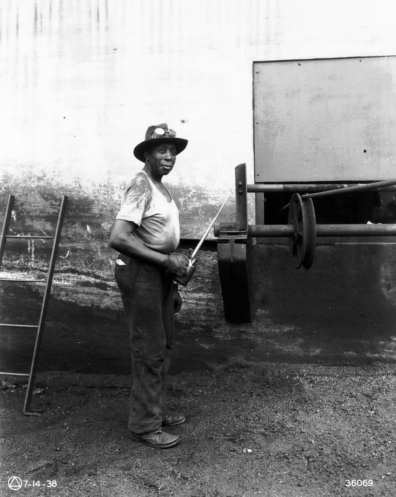 African American Repairman