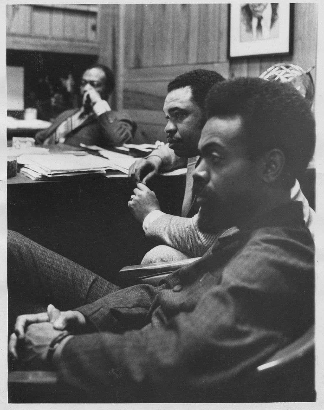 Amiri Baraka and Ken Gibson