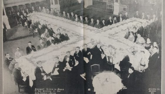 Banquet Given in Honor of the Aviators of the Raid, Lisbon-Macau (August 24, 1924)