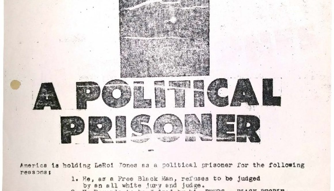thumbnail of C-51 (Notice on Leroi Jones' Imprisonment) copy