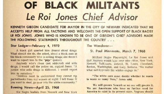 thumbnail of Campaign Flyer- Gibson Accepts Support of Black Militants (June 1970)