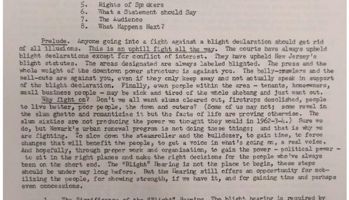 thumbnail of Fighting the Blight or Urban Resistance to Authoritarian Social Change by A Veteran of Newark's Blight Wars of the 50s and 60s-ilovepdf-compressed