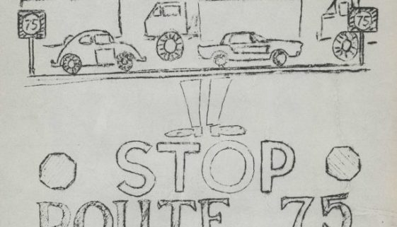 Flyer- Stop Route 75 Rally