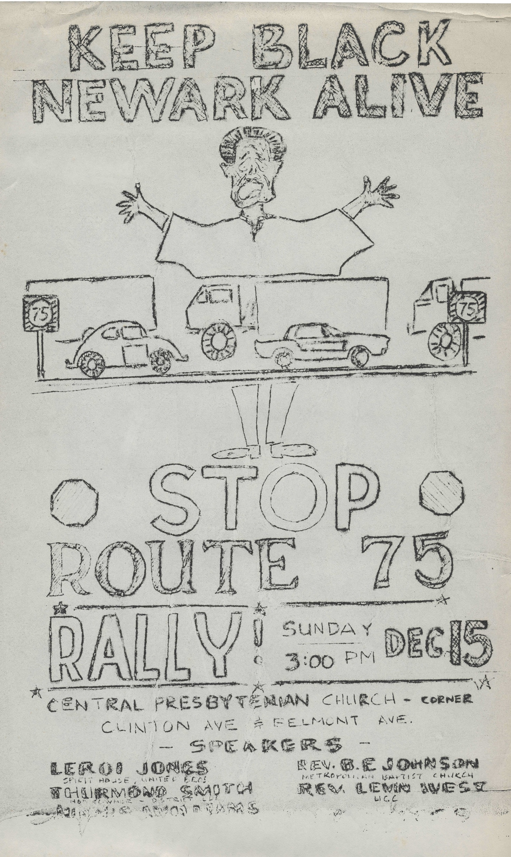 Stop Route 75 Rally