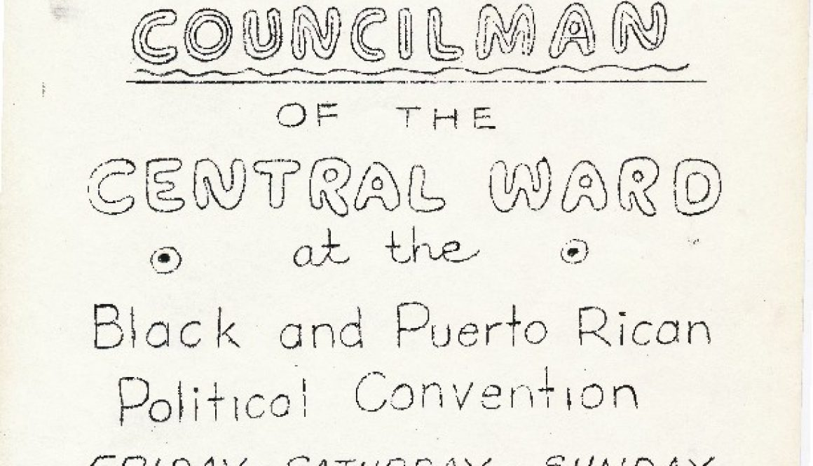 thumbnail of Flyer- Support Dennis A Westbrooks for Central Ward Councilman