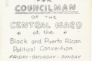 The Black and Puerto Rican Convention
