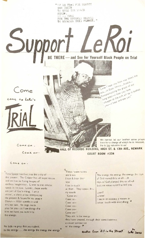 Support LeRoi Jones Flyer