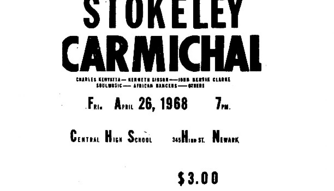 thumbnail of Flyer- United Brothers Event Featuring Stokely Carmichael
