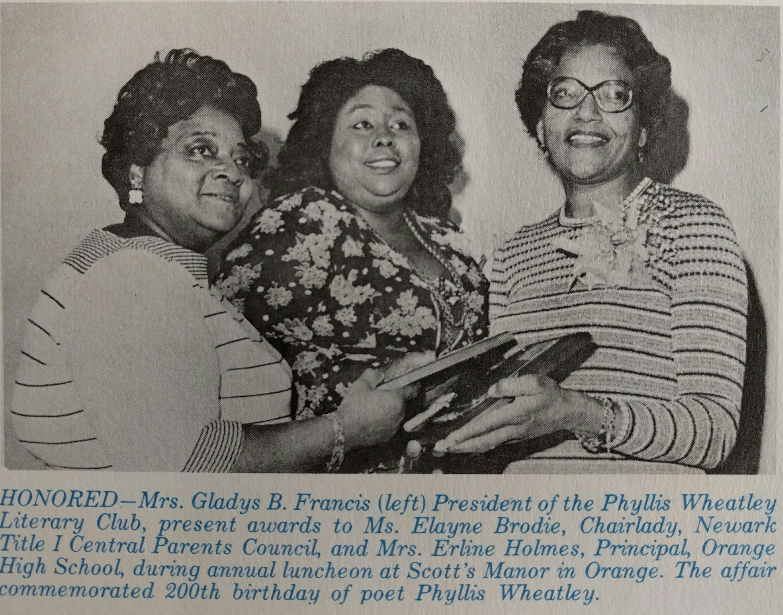 Gladys, Elaine, and Erline