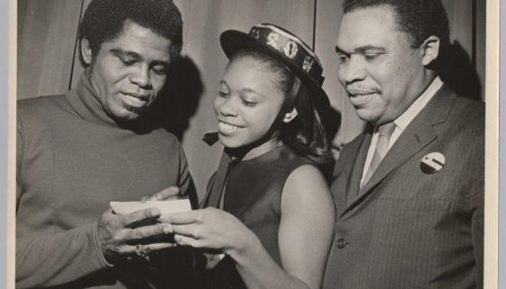 """James Brown, a """"Gibson Girl,"""" and Ken Gibson"""