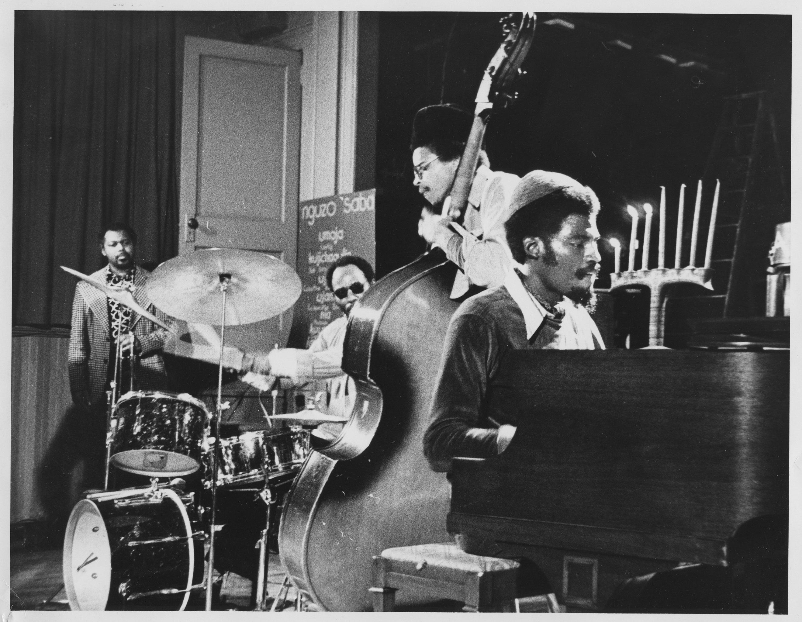 Jazz Group Performs Inside the Hekalu