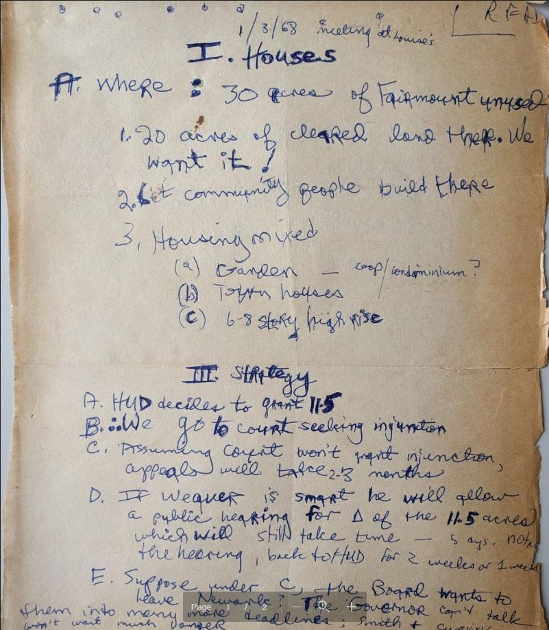 Junius Williams Notes