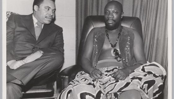 Ken Gibson and Isaac Hayes