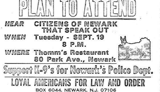 thumbnail of LALO Flyer- Support K-9s for Newarks Police Dept (C-72)