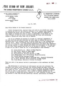 Fundraising letter from Ulysses Blakeley to solicit funds and participation for the National Conference on Black Power, to be held in Newark from July 20-23, 1967. -- Credit: Newark Public Library