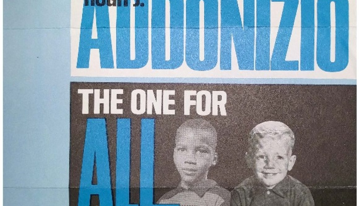 thumbnail of Mayor Addonizio Campaign Brochure (May 12, 1970)