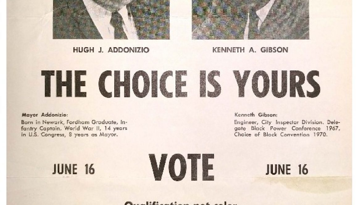 thumbnail of Mayor Addonizio Campaign Flyer- Qualification Not Color (June 16, 1970)