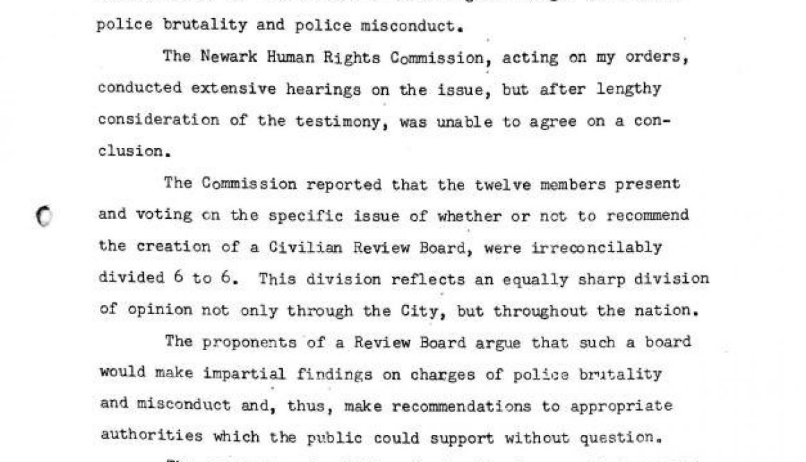 thumbnail of Mayor Addonizio's Statement on a Police Review Board for Newark (Sept 15, 1965)-ilovepdf-compressed
