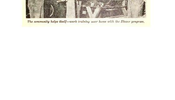 thumbnail of Photo of Blazer Automotive Training (UCC Program Report 1966-67)